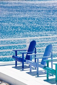 ocean and adirondack chairs- Blog#1- Pinterest