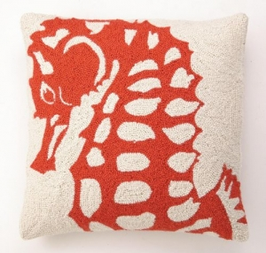 Shop Ten 25 Seahorse Pillow
